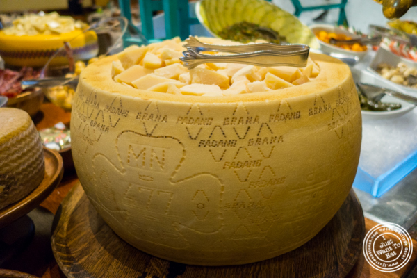Parmiggiano reggiano at Churrascaria Plataforma in NYC, New York