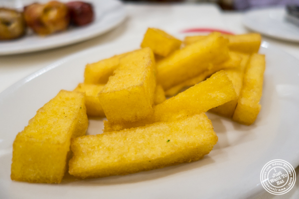 Fried polenta at Churrascaria Plataforma in NYC, New York