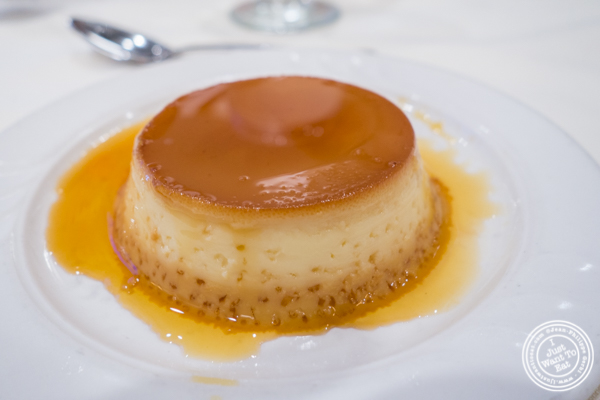 Flan at Churrascaria Plataforma in NYC, New York