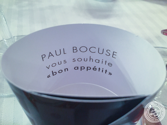 Bocuse artifact at L'Auberge du Pont de Collonges of Paul Bocuse in France