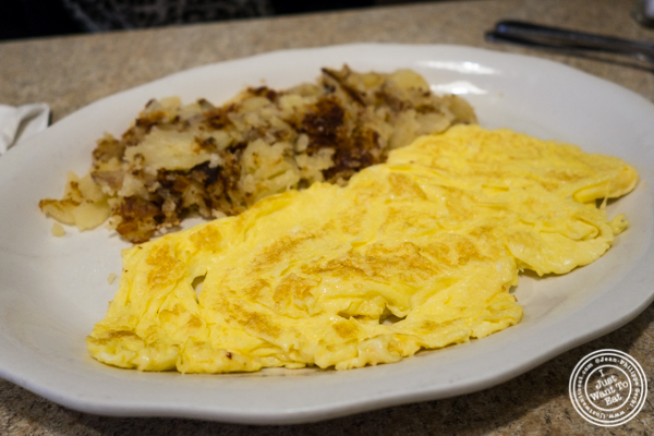 Scrambled eggs at Malibu Diner in Hoboken, NJ