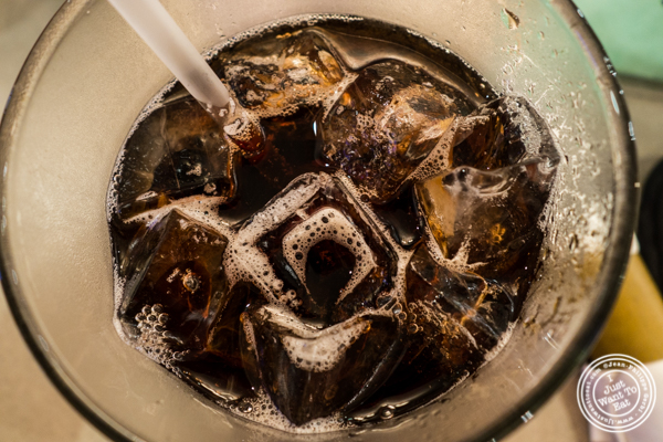 Root beer at Malibu Diner in Hoboken, NJ