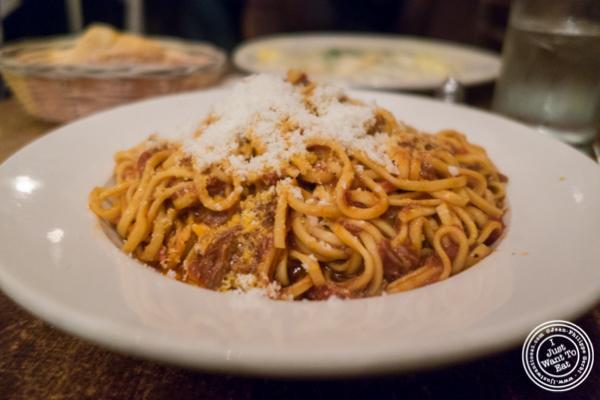 Spaghetti Alla Chitarra at Max, Italian Restaurant in TriBeCa