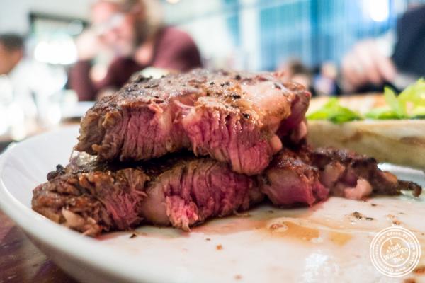 Ribeye at STK,modern steakhouse in NYC, New York