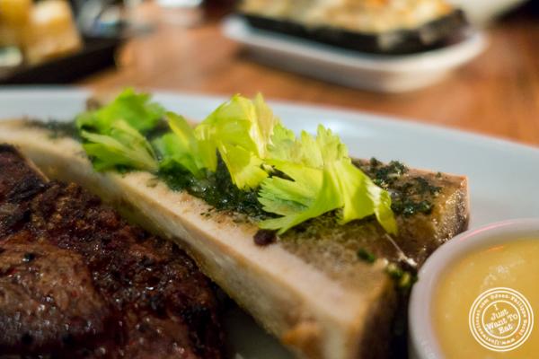 Bone marrow at STK,modern steakhouse in NYC, New York