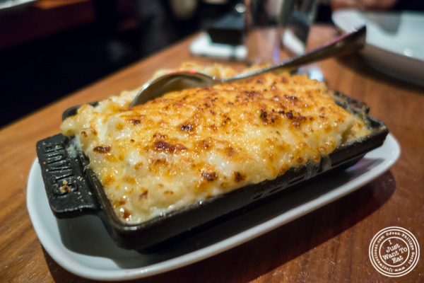 Mac and cheese at STK, modern steakhouse in NYC, New York