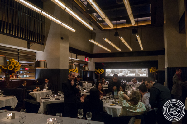 Main dining room at Ocean Prime in NYC, New York