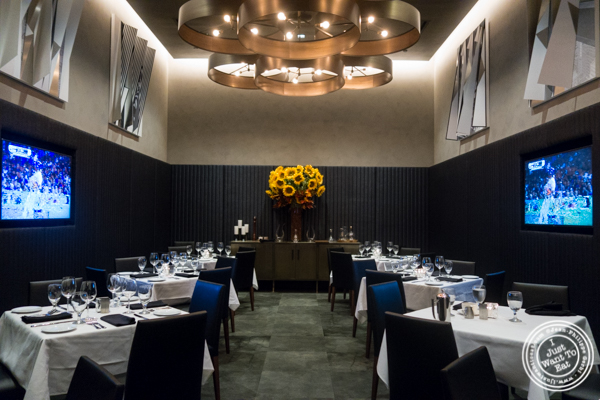 Private room at Ocean Prime in NYC, New York