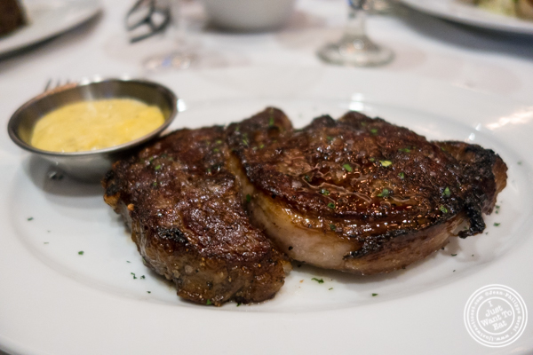 Ribeye at Ocean Prime in NYC, New York
