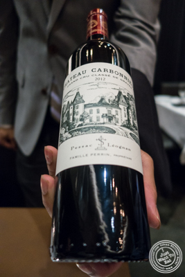 Chateau Carbonnieux Grand Cru Classe Graves 2012 from France at Ocean Prime in NYC, New York