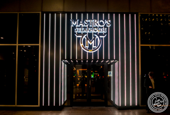 Mastro's Steakhouse in NYC, New York