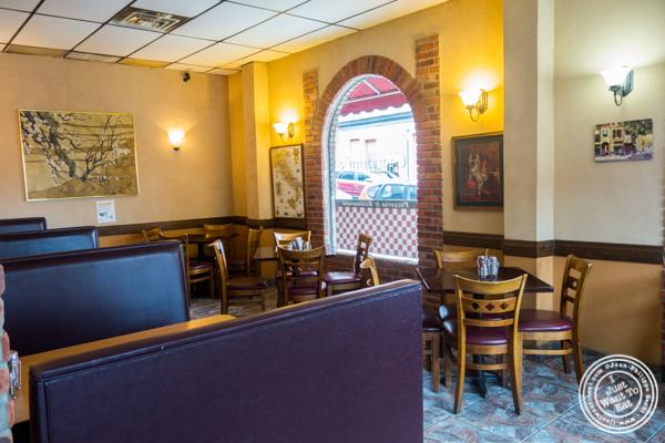 Dining room at H & S Giovanni's in Hoboken, NJ