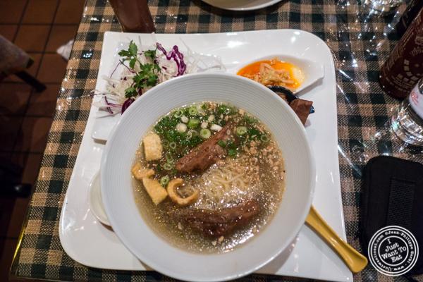 Xia Xiu pork ramen at Boi Noodle House in NYC, New York