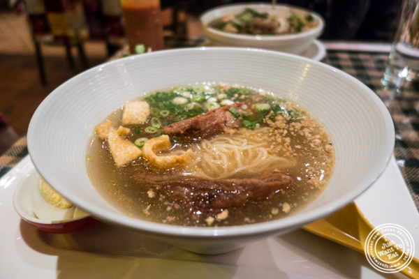 Xia Xiu pork ramen at Boi Noodle House in NYC, New York