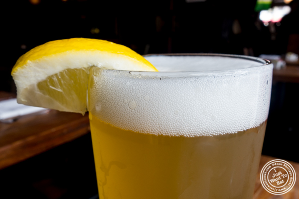 Allagash White beer at Onieal's in Hoboken, NJ