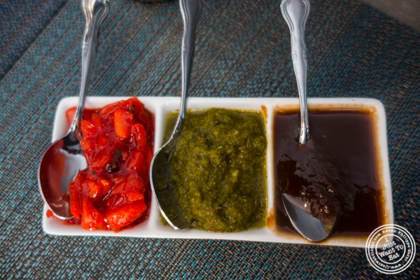 Chutneys at Tikka Indian Grill in Williamsburg, Brooklyn
