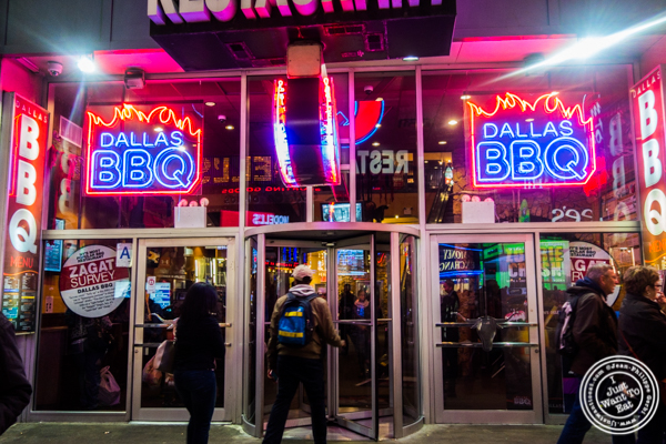 Dallas BBQ in Times Square, NYC, New York