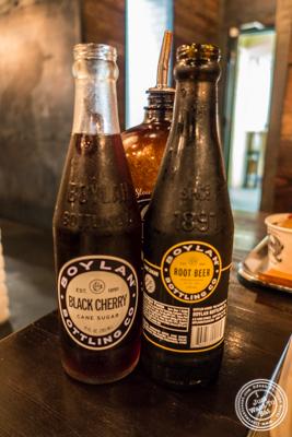 Boylan sodas at Mighty Quinn's BBQ in NYC, New York