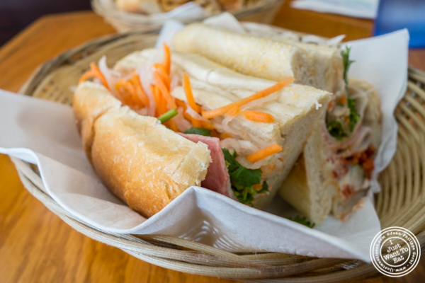 Traditional Banh Mi at Pho Nomenon in Hoboken, NJ