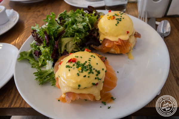 Salmon benedict at Sarabeth's in TriBeCa