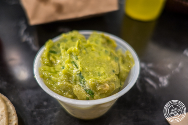 Guacamole at Choza Taqueria at The Gotham West Market in NYC, New York