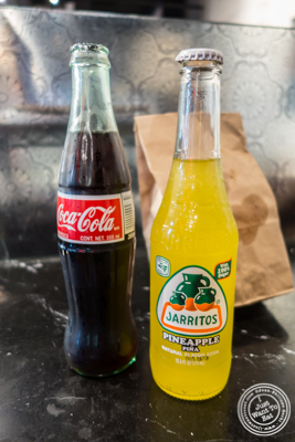 Sodas at Choza Taqueria at The Gotham West Market in NYC, New York