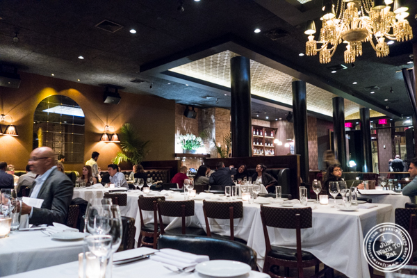 Dining room at White Street in Tribeca, NYC, New York