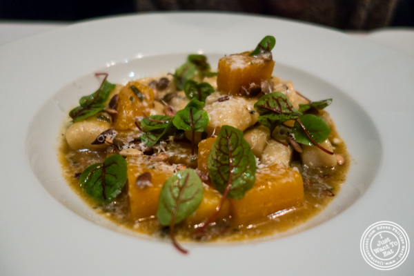 Gnocchi at White Street in Tribeca, NYC, New York