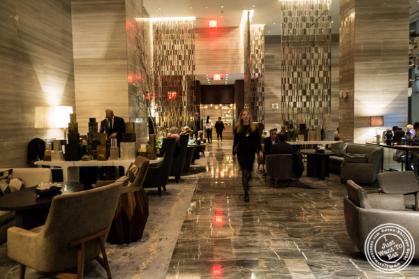Entrance at The Back Room at One57, The Park Hyatt Hotel
