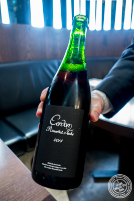 Cerdon, Renardat-Fâche, Bugey, France 2014  at The Back Room at One57, The Park Hyatt Hotel
