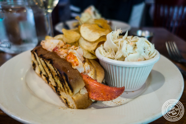 Maine Lobster roll at Off The Hook, Raw Bar and Grill in Astoria, Queens