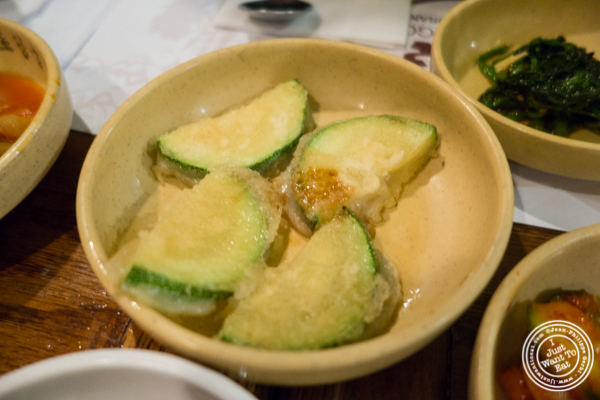 Squash at Cho Dang Gol, Korean restaurant in NYC, New York