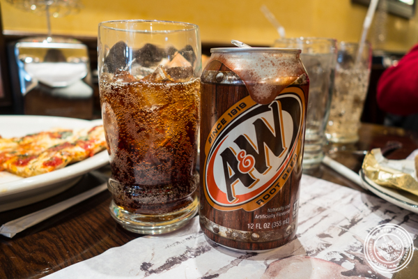 Root beer at Gaudio's, Pizzeria and Restaurant in Astoria, Queens