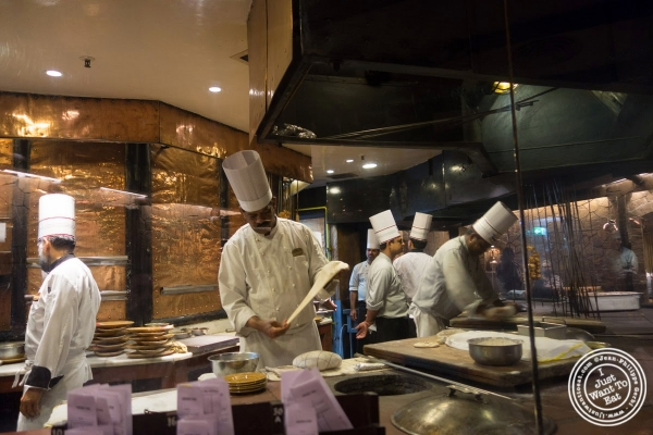 kitchen at Bukhara in Delhi, India