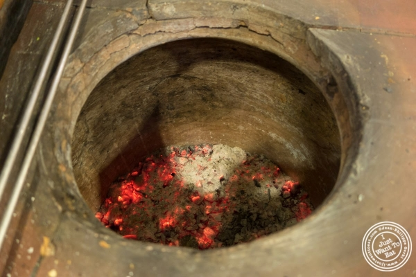 tandoori oven at Bukhara in Delhi, India