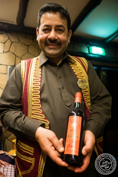 Sula wine at Bukhara in Delhi, India