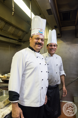 Chef Qureshi at Dum Pukht at The ITC Maurya Hotel in Delhi, India