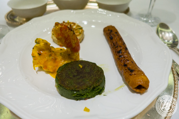 Meal at Dum Pukht at The ITC Maurya Hotel in Delhi, India
