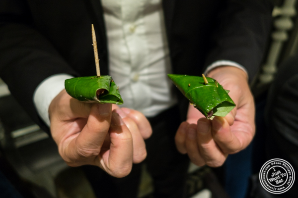 Beetle leaves at Dum Pukht at The ITC Maurya Hotel in Delhi, India