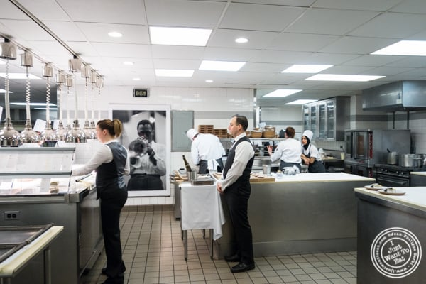 Kitchen at Eleven Madison Park in NYC, New York