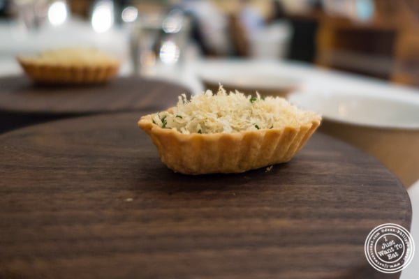Oyster pie at Eleven Madison Park in NYC, New York