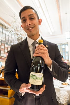 "2012 Chablis Premier Cru ""Montée de Tonnerre"" at Eleven Madison Park in NYC, New York"