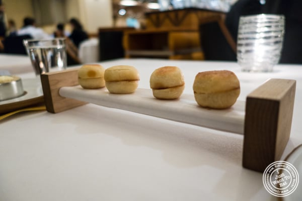 Muffins at Eleven Madison Park in NYC, New York