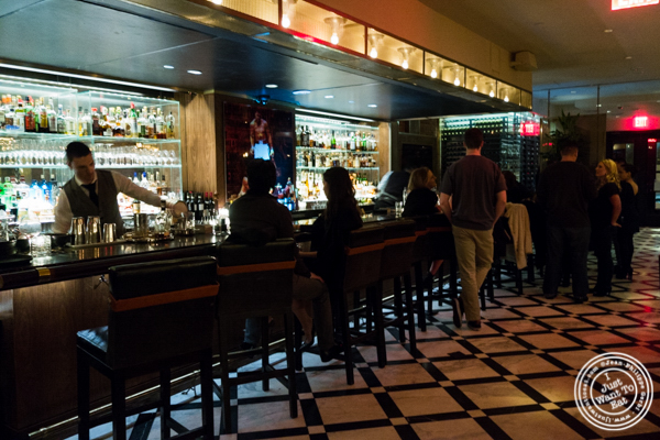 Bar at American Cut in TriBeCa, NYC, New York