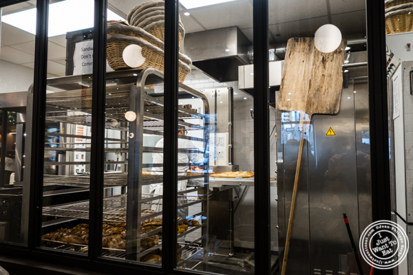 Kitchen at Maison Kayser in the West Village, NYC, New York