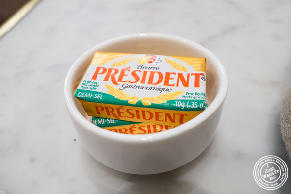 President salted butter at Maison Kayser in the West Village, NYC, New York