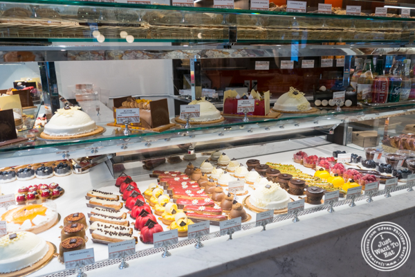 Pastries at Maison Kayser in the West Village, NYC, New York