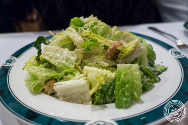 Caesar salad at Ben and Jack's Steakhouse in NYC, NY