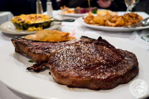 Ribeye at Ben and Jack's Steakhouse in NYC, NY