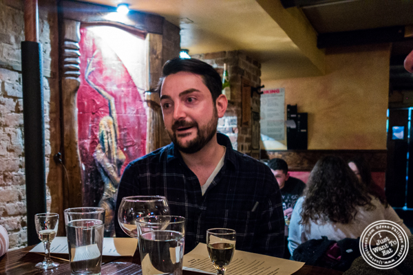 Chef Ruben Rodriguez at Nai Tapas Bar in the East Village